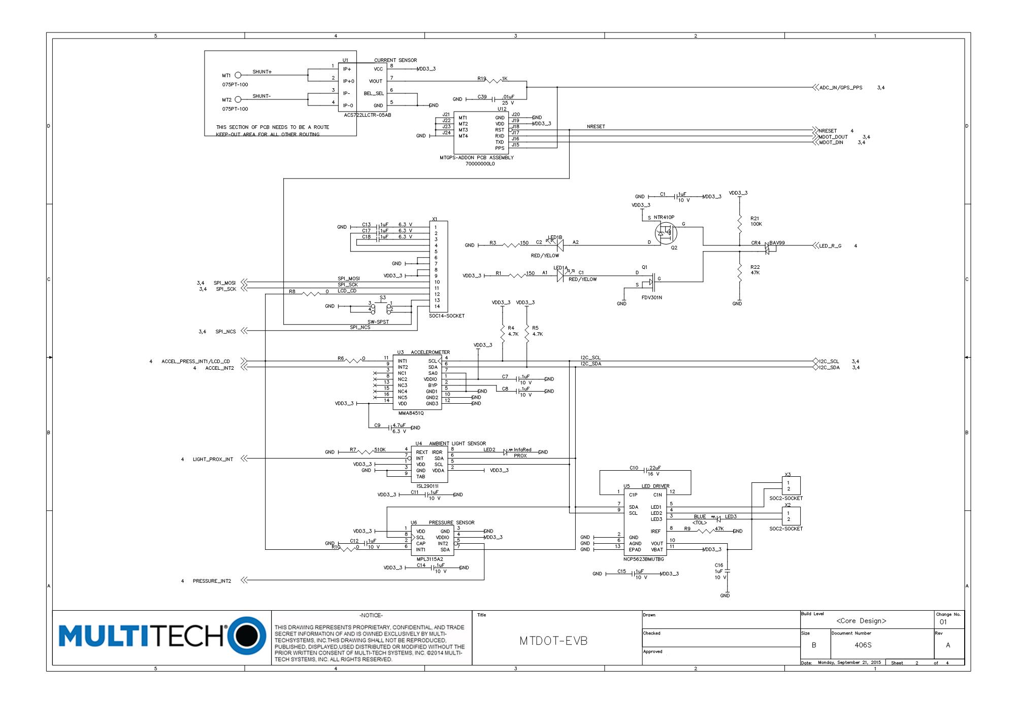 MultiTech Developer Resources » EVB Schematics